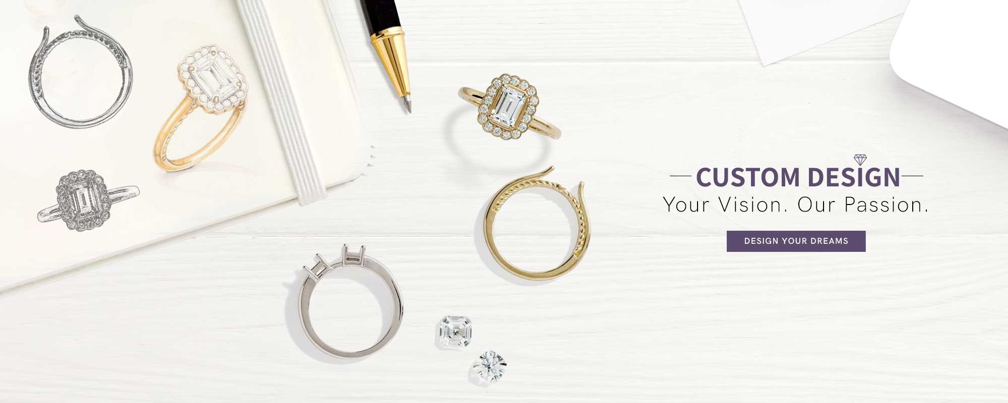 Custom Design Your Jewelry At Pearson's Jewelers
